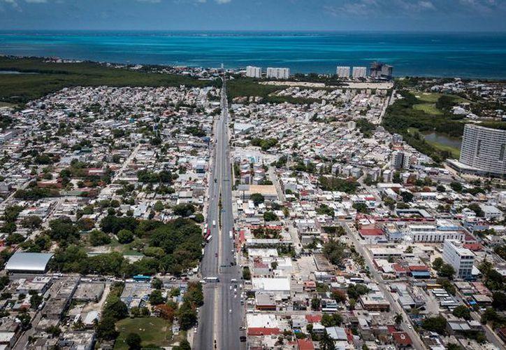Los proyectos de puentes en la avenida José López Portillo no se llevarán a cabo. (Karim Moisés/SIPSE)