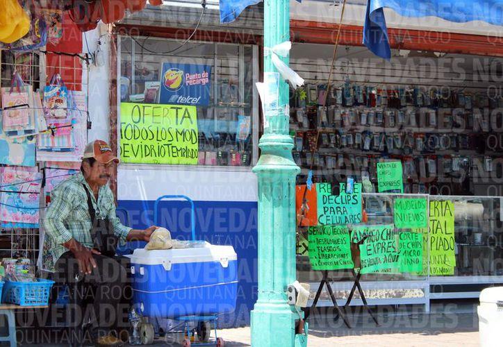Bacalar es el municipio donde hay más población económicamente activa ganando un salario mínimo al día. (Joel Zamora/SIPSE)