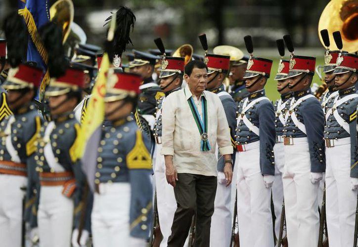 Rodrigo Duterte ha asegurado que mató a decenas de delincuentes cuando fue alcalde de Davao, Filipinas. (AP/Aaron Favila)