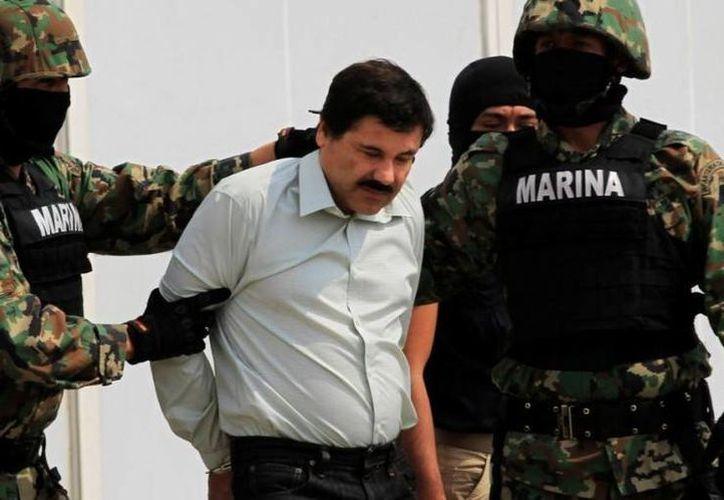 Joaquín El Chapo Guzmán fue capturado el 22 de febrero en Mazatlán, Sinaloa. (Archivo/Agencias)