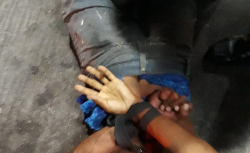 El ladrón fue detenido por ciudadanos hartos de la violencia e inseguridad. (SIPSE)
