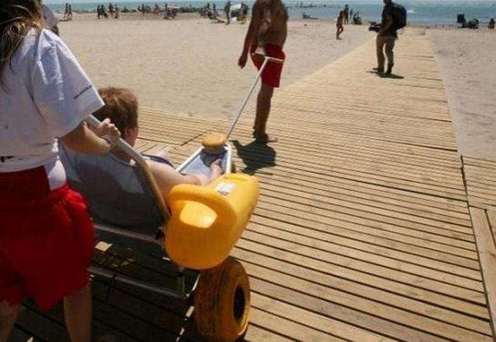 La playa está ubicada frente al parque Fundadores en la ciudad de Playa del Carmen. (Foto de contexto)