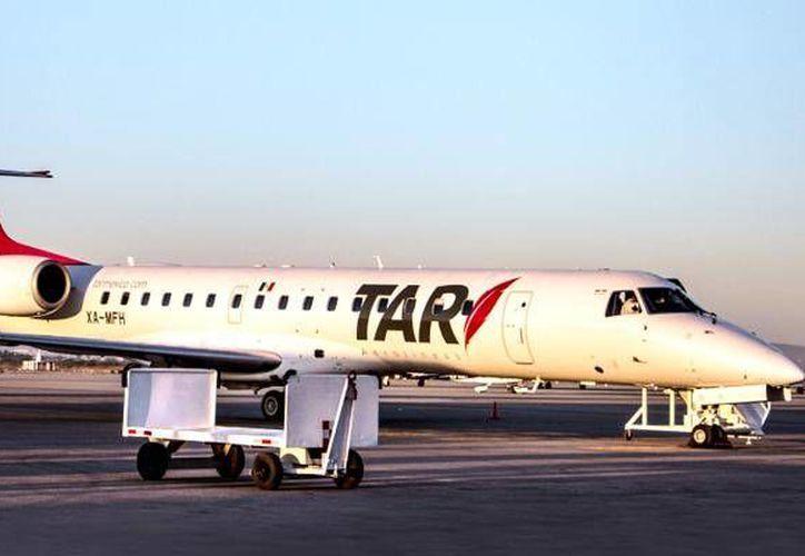 La aerolínea TAR proyecta nuevas rutas regionales, con vuelos cortos y a precios accesibles. (Contexto/Internet)