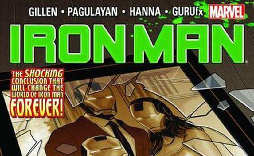 Este es el más reciente cómic sobre Iron Man, el número 17. (espaciomarvelita.com)