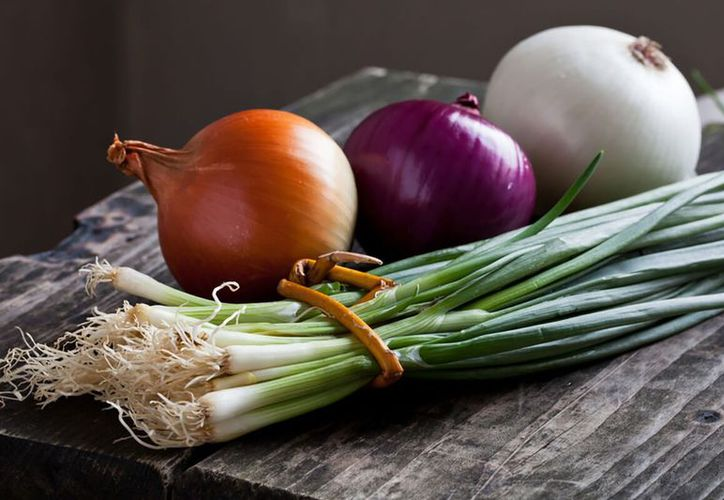 La cebolla combate el cáncer de colón y de estómago. (Contexto)