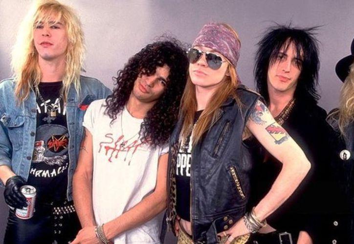 Guns N' Roses, es una de las bandas de rock más polémicas de los años 80s y 90s. (Vanguardia MX)