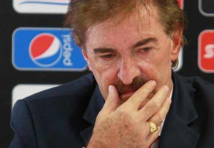 Ricardo Antonio La Volpe pidió que le comprueben los cargos de los que se le acusa. (Foto: Agencias)