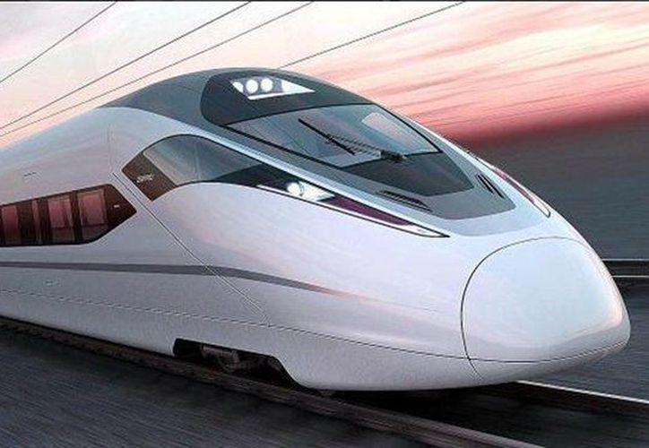 El proyecto del tren México-Querétaro está suspendido de manera indefinida. (twitter.com/SCT_mx)