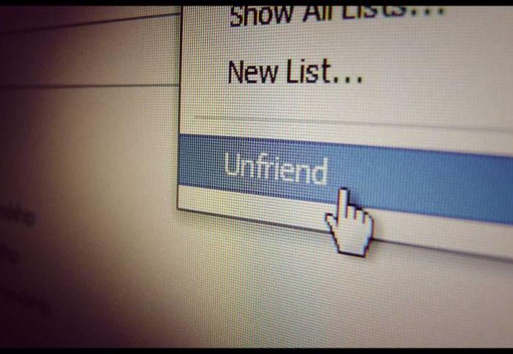 Eliminar a un amigo de Facebook puede traer graves consecuencias. (Imagen de contexto: estudiourbina.com)