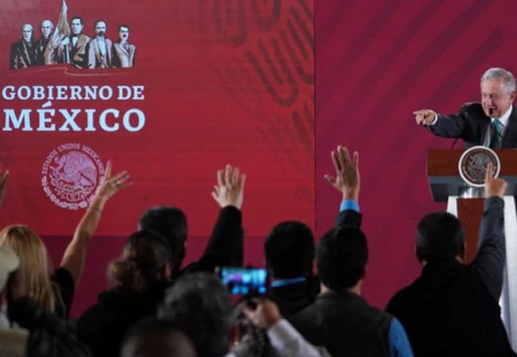El presidente de México tiene actualmente 1 millón de suscriptores en YouTube, 5,69 millones en Twitter. (Foto: Presidencia)