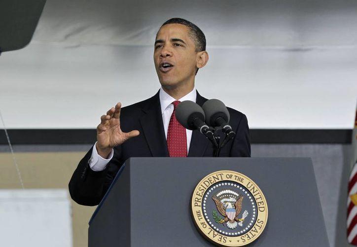 Obama asegura que los veteranos no piden nada que el país no pueda darles. (Agencias)