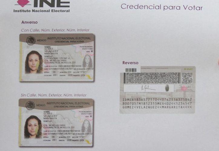 El INE está en un proceso de desechar credenciales caducas y para ello contará con 100 módulos adicionales. (Notimex/Foto de archivo)