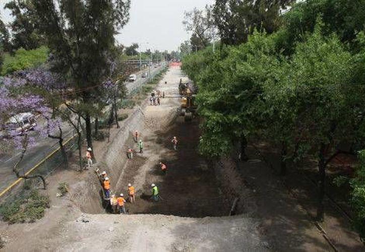 El proyecto de ampliación de la Línea 12 del metro tiene asignados 3 mil millones de pesos. (Archivo/Milenio )