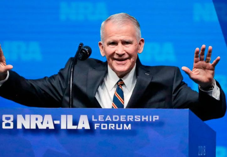 """""""Me siento honrado de haber sido seleccionado por la Junta de NRA para servir pronto como el presidente de esta gran organización"""". (AP)"""