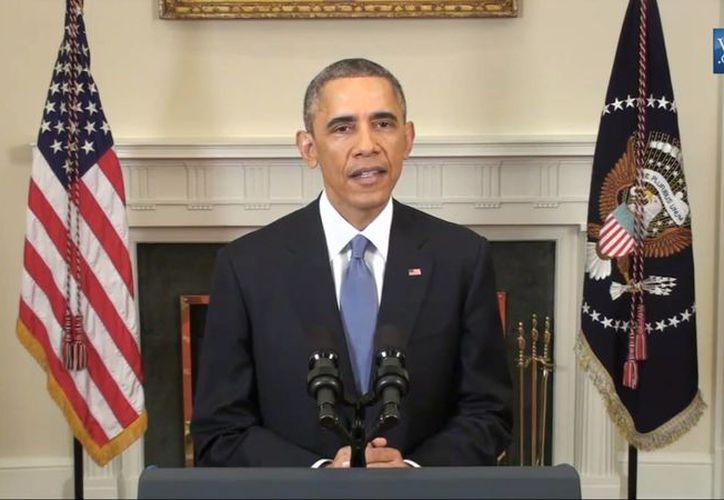 El presidente Obama anunció el miércoles el restablecimiento de las relaciones diplomáticas con Cuba, tras cinco décadas suspendidas. (Archivo/Notimex)