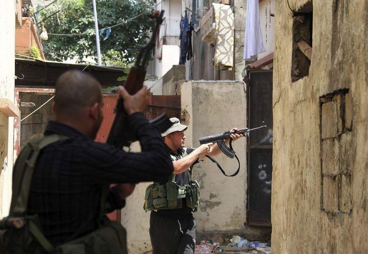 Los combates se han agravado desde que hace diez días fueron asesinados 20 jóvenes salafistas en una emboscada. (EFE)