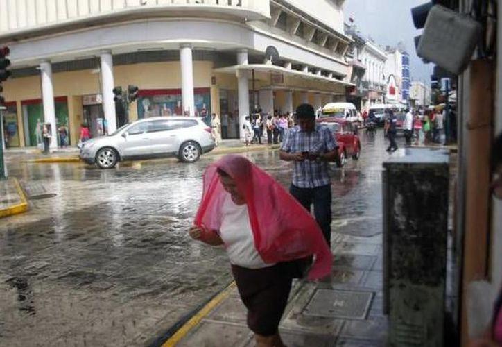 A pesar de la lluvia, se espera que las temperaturas máximas oscilen entre los 33.0 a 37.0 grados centígrados para Yucatán y Campeche. (SIPSE)