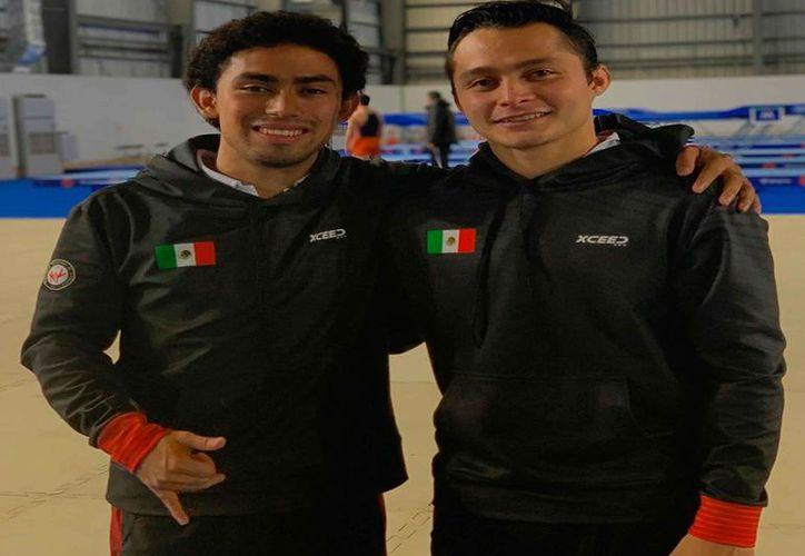 Gimnastas yucatecos favoritos para juegos Olímpicos de Tokio.(Foto: Novedades Yucatán)