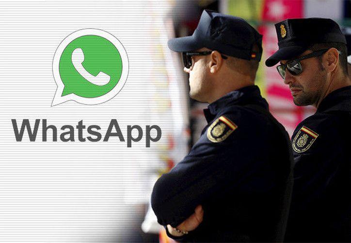 Todos los departamentos de la Policía han recibido un manual de usuario, en el que se define la aplicación como una solución de mensajería instantánea cifrada. (RT)
