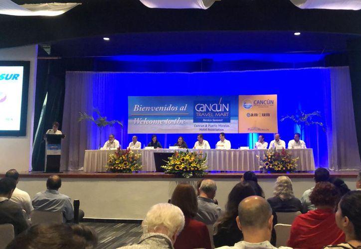 El evento se llevó a cabo en el Centro de Convenciones de Cancún. (Redacción)