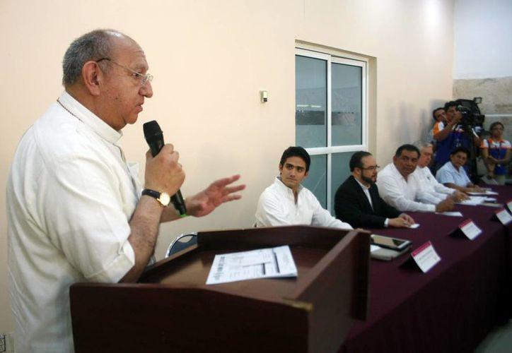 Analizan religiosos y autoridades la migración temporal y explotación humana en la jornada de Movilidad Humana, que se lleva a cabo en Mérida. (Milenio Novedades)
