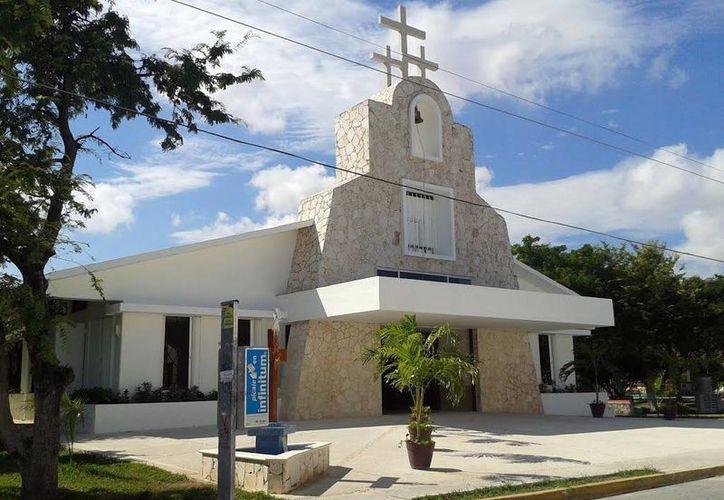 Templo dedicado a la Sagrada Familia, que celebra su fiesta. (Milenio Novedades)
