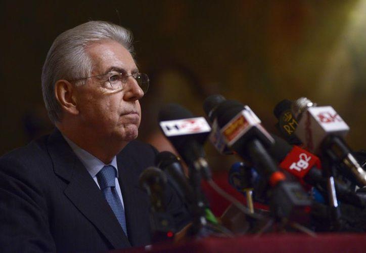 Mario Monti reveló detalles de su relación con Angela Merkel. (EFE/Archivo)