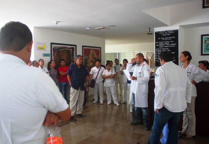 El personal médico ha manifestado presuntos actos de intimidación de parte de la administración del hospital. (Daniel Pacheco/SIPSE)