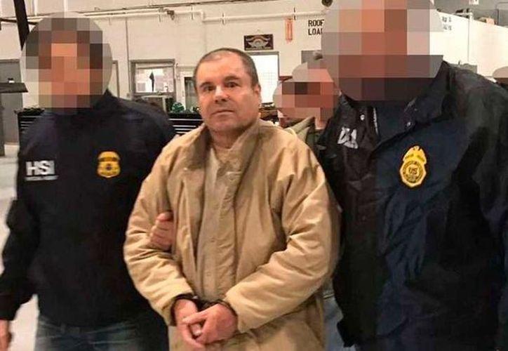 Desde el 19 de enero de 2017, Guzmán se encuentra en una cárcel de máxima seguridad de Manhattan, en régimen de aislamiento. (Contexto/Internet)