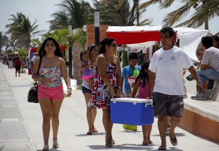 Prestadores de servicios esperan un incremento de paseantes el próximo fin de semana. (Milenio Novedades)