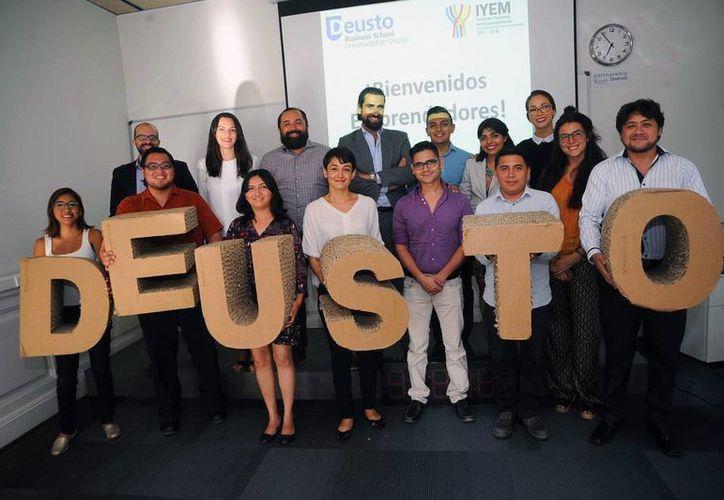 Emprendedores yucatecos iniciaron su capacitación en el marco del Start Up Madrid. (Milenio Novedades)