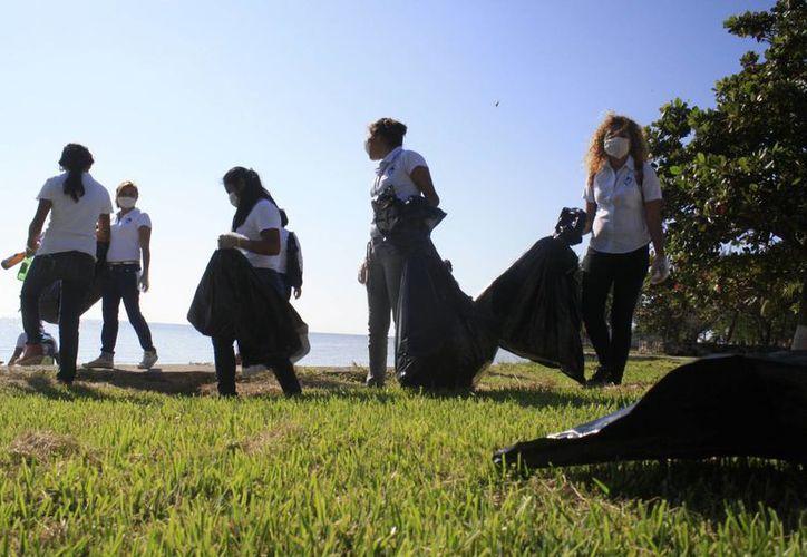 Los jóvenes realizarán esta actividad con el fin de crear conciencia sobre el cuidado del medio ambiente. (Harold Alcocer/SIPSE)