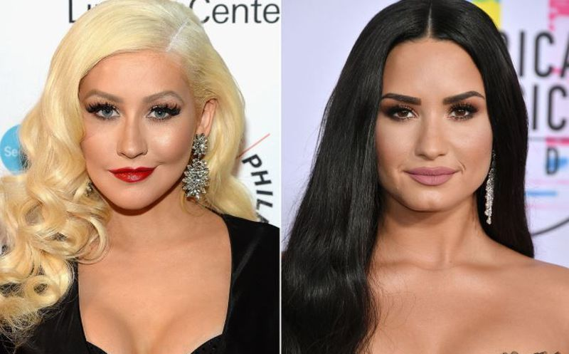 Lo nuevo de Demi Lovato y Christina Aguilera (VIDEOS) — Fall in Line
