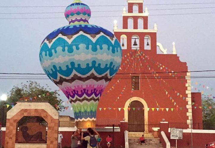 Miles de globos 'pintarán' de colores el cielo de Yucatán durante un festival que tendrá como sede Tahmek. (Milenio Novedades)