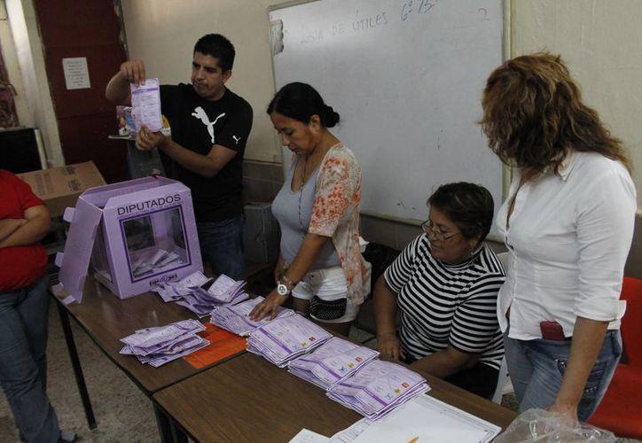 Alistan todo para las elecciones en junio. (Jesús Tijerina/SIPSE)