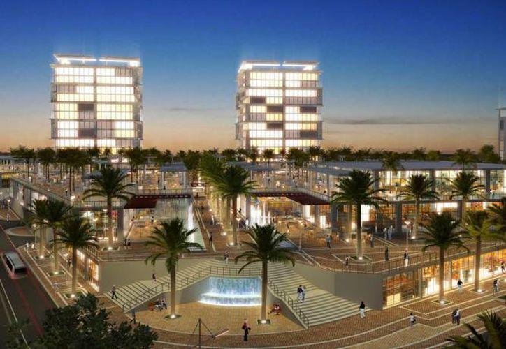 Otro de los proyectos que también se prevé abrir en el segundo semestre de 2016 es la plaza ubicada en Puerto Cancún. (Jesús Tijerina/SIPSE)