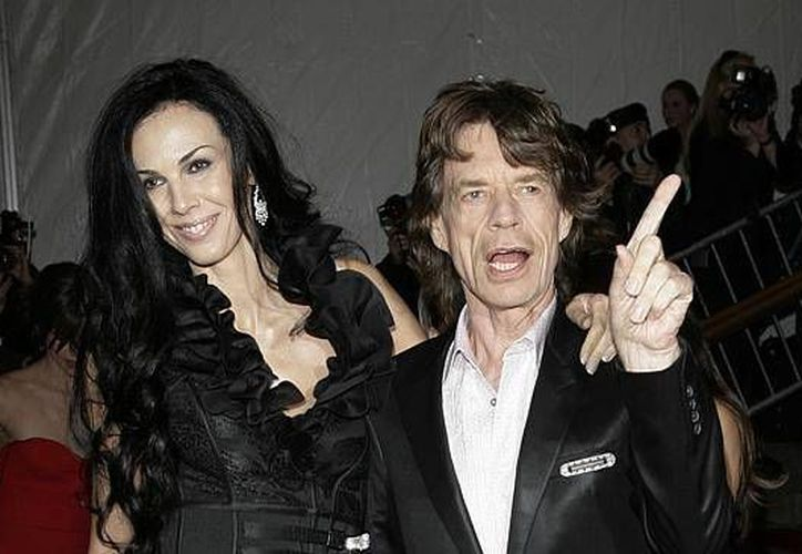 L'Wren Scott fue durante muchos años novia de Mick Jagger, vocalista de los Rolling Stones. (Agencias)