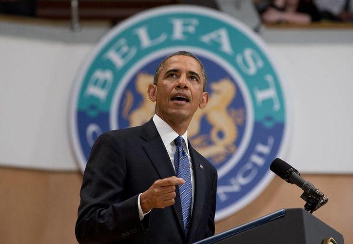 Obama hizo notar que hay consenso sobre la necesidad de aprobar esta reforma. (Agencias)