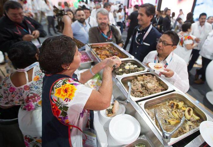 La comida yucateca triunfo en el Tianguis Turístico hace apenas unos días, en Mazatlán. (Milenio Novedades)
