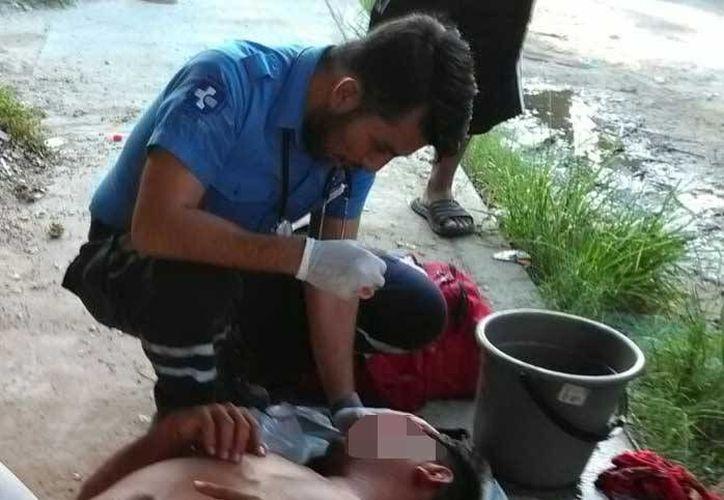 Un hombre fue herido por otro que, según declaró el lesionado, lo quería matar. (Redacción/SIPSE)