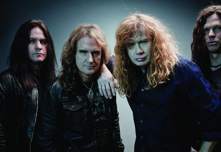Con la desintegración de Megadeth, el único que quedaría en la banda es Dave Mustaine. (metalinjection.net/Foto de archivo)