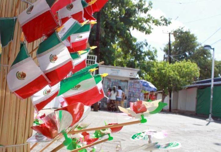 No tienen un monto estimado de lo que costarán las festividades patrias. (Carlos Horta/ SIPSE)