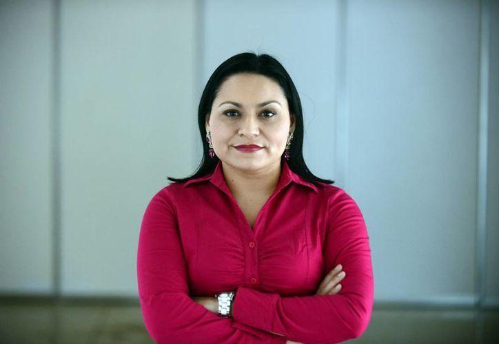Rocío Cortés Campos, académica de la licenciatura en Comunicación Social de la Facultad de Ciencias Antropológicas de la Uady. (SIPSE)