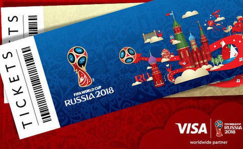 Conoce los precios para la Copa del Mundo celebrada en Rusia. (VISA).