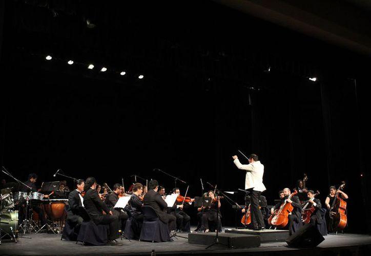 La Orquesta Sinfónica de Cancún lanzó la convocatoria para músicos jóvenes. (Faride Cetina/SIPSE)