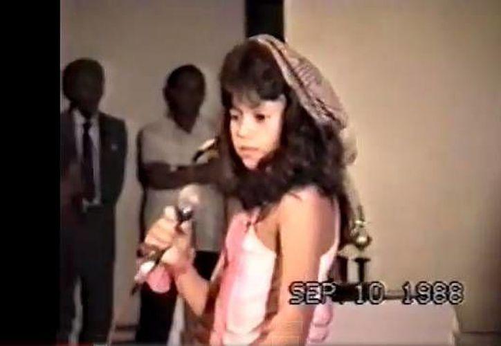 El video que muestra a la cantante fue grabado el 10 de septiembre de 1988 en el colegio La Enseñanza. (YouTube)