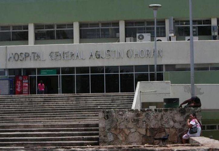 La joven Sugelly Teresa Chi literalmente vivió durante dos días en las inmediaciones de la hospital O'Horán, donde finalmente fue localizada por las autoridades. (SIPSE.com)