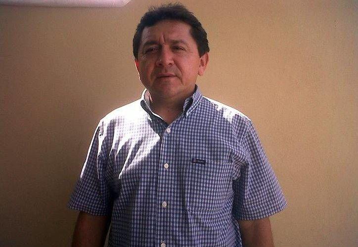 Felipe Duarte Ramírez, integrante de la Red de Maestros de Yucatán. (Milenio Novedades)