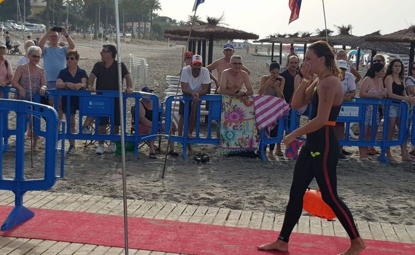 A sus 17 años de edad, Bárbara Ixchel Viazzo Monroy consumó un gran logro en su carrera deportiva. (Ángel Villegas)