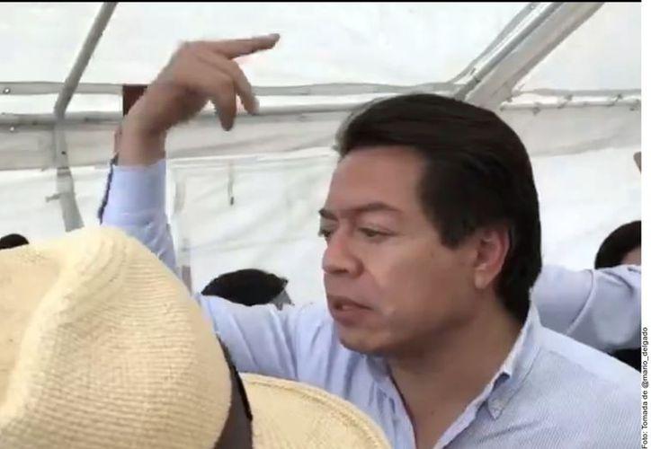 Mario Delgado Carillo, diputado y aspirante a la dirigencia nacional de Morena. Foto: Reforma.